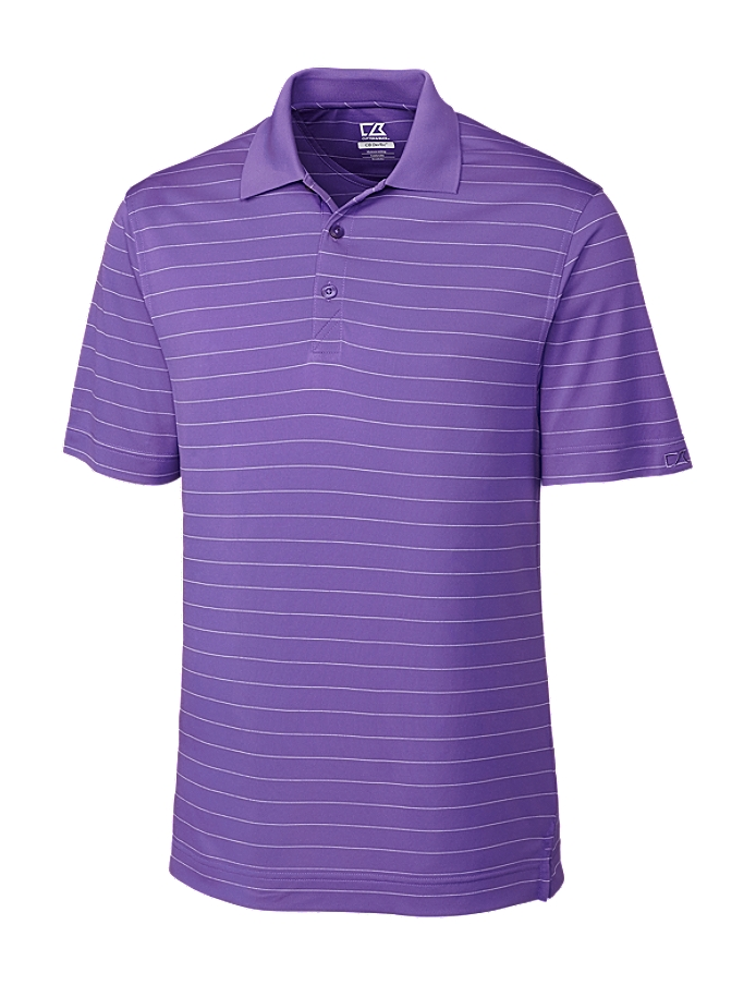 CUTTER & BUCK MCK00969 - Mens CB DryTec Franklin Stripe Polo