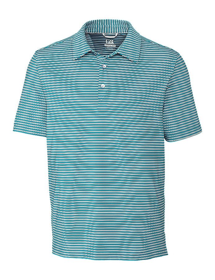 CUTTER & BUCK MCK09372 - Men's Division Stripe Polo