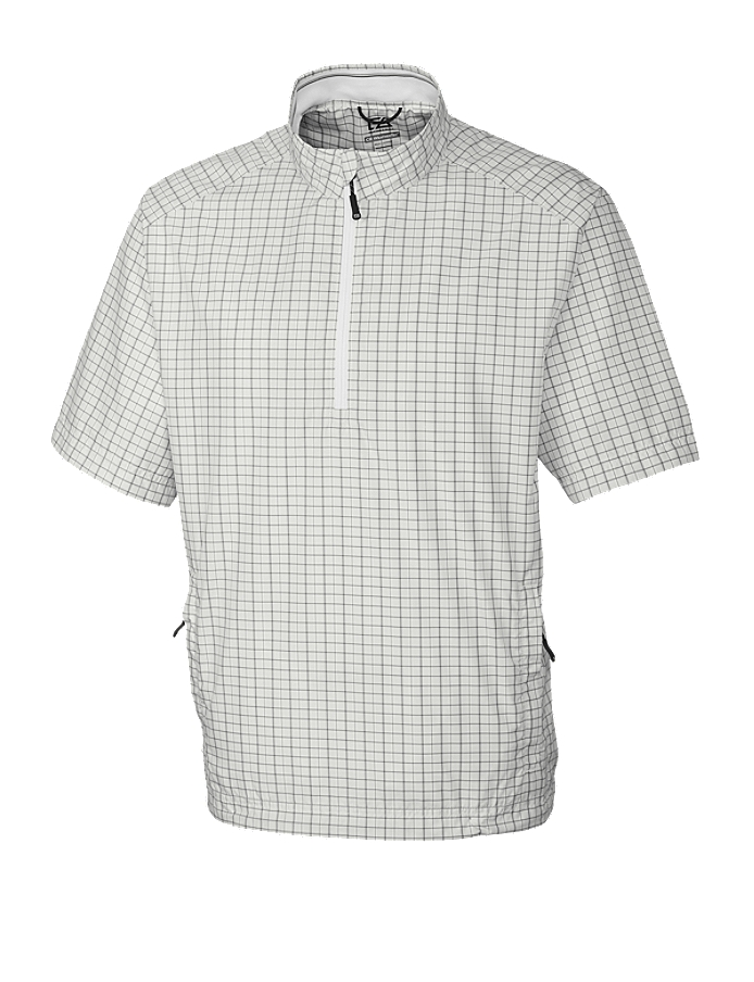 CUTTER & BUCK MCO00927 - Men's CB WindTec S/S Ardent Half Zip