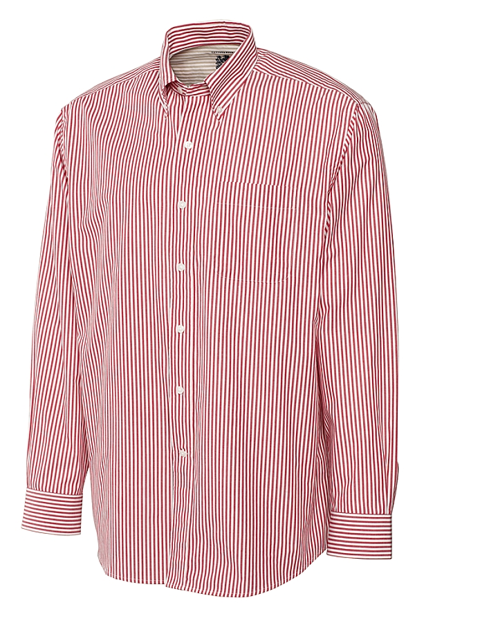 CUTTER & BUCK MCW01743 - Men's L/S Cutter Bengal Stripe