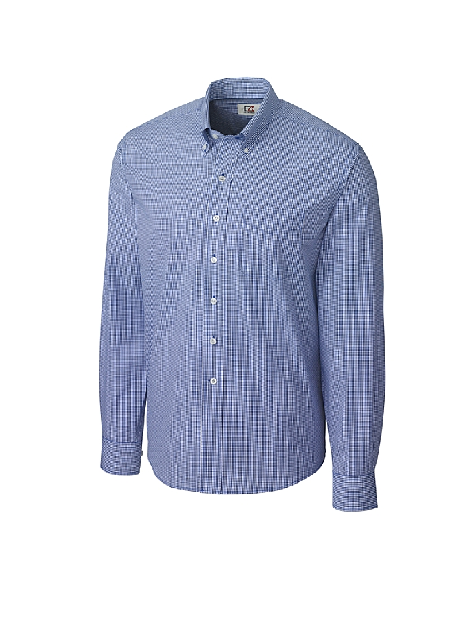 CUTTER & BUCK MCW01878 - Men's L/S Epic Easy Care Gingham