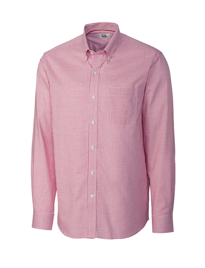 CUTTER & BUCK MCW01891 - Men's L/S Epic Easy Care Tattersall