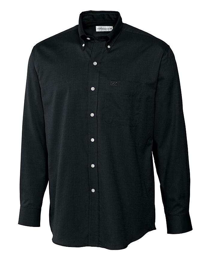 CUTTER & BUCK MCW04757 - Men's L/S Nailshead Woven Shirt