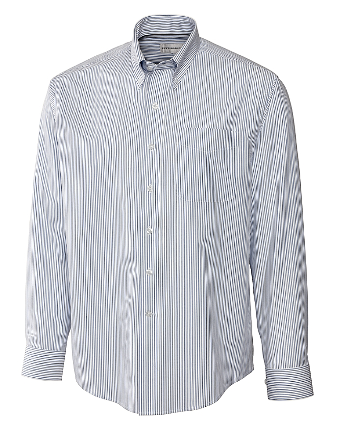 CUTTER & BUCK MCW09181 - Men's L/S Epic Easy Care Variegated Stripe
