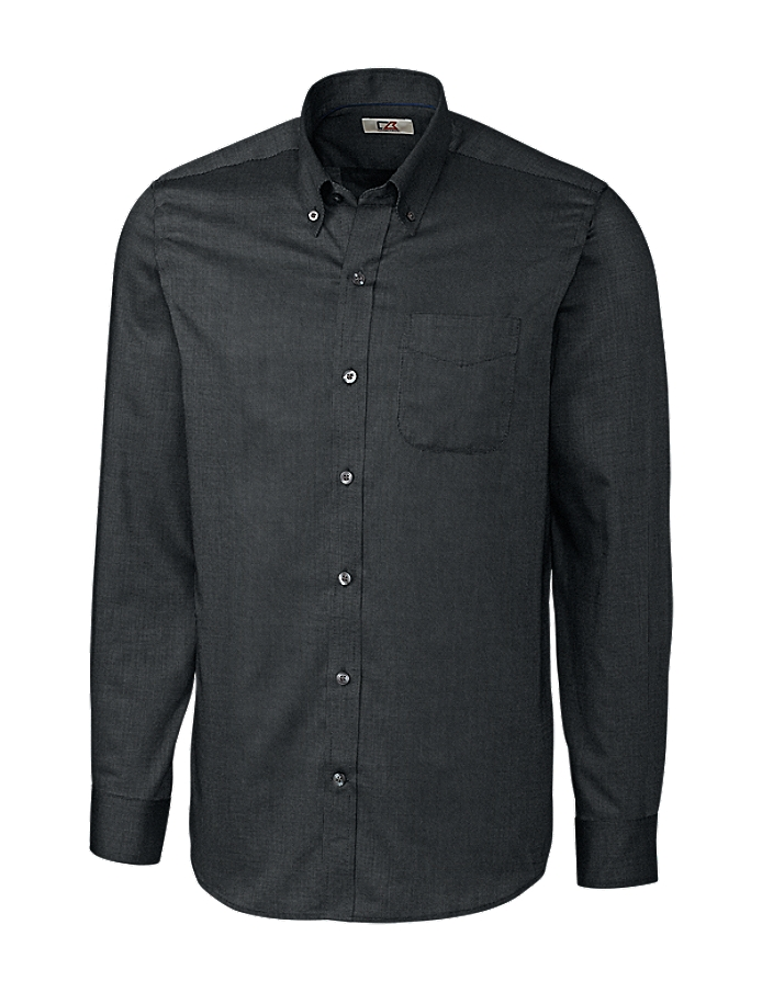 CUTTER & BUCK MCW09399 - Men's L/S Tailored Fit Nailshead