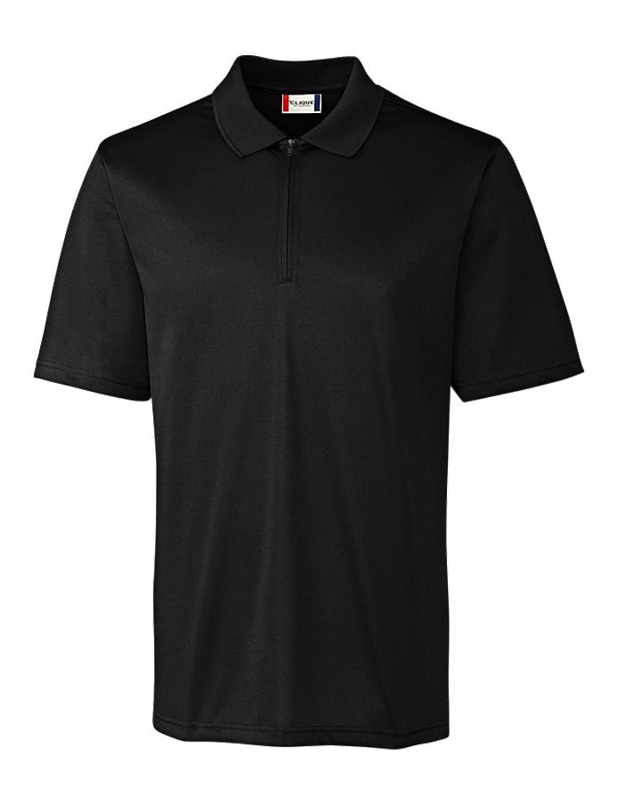 CUTTER & BUCK Clique MQK00065 - Men's Malmo Snag Proof Zip Polo