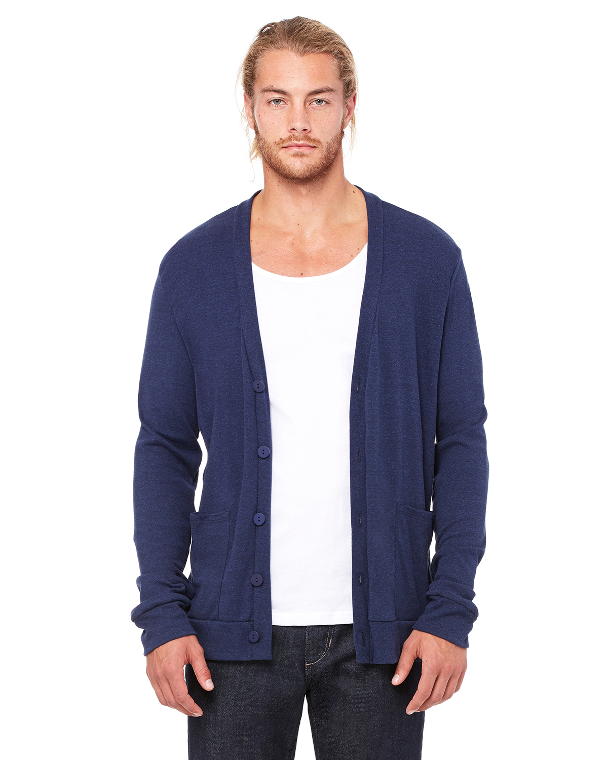 Canvas 3900 - Triblend Unisex Cardigan
