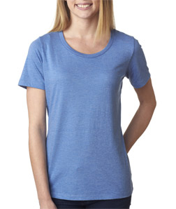Canvas 6406 - Missy Short-Sleeve Scoop-Neck Tee