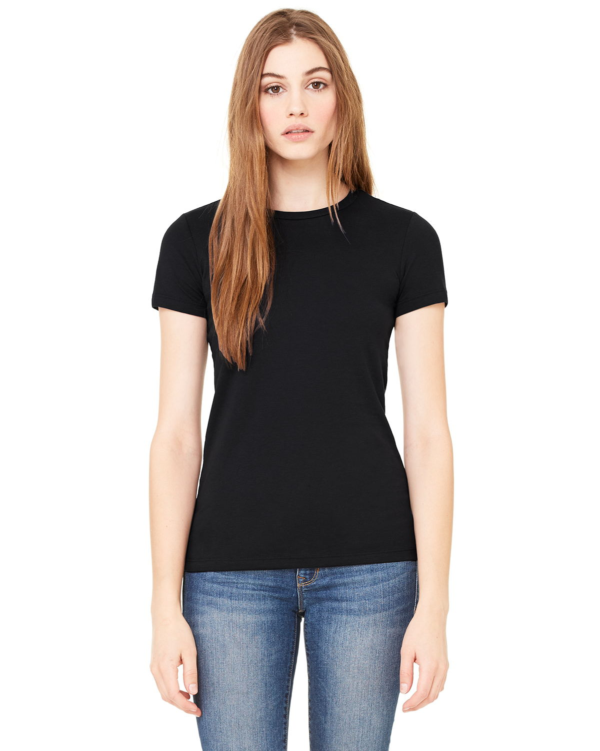 Canvas 6650 - Ladies' Poly/Cotton Short-Sleeve Tee