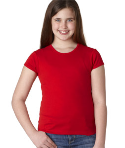 Canvas 9001 - Girls' Short-Sleeve Baby Rib Crew Neck Tee