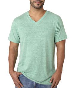 Canvas C3415 - Men's TriBlend Short-Sleeve Deep V-Neck Tee