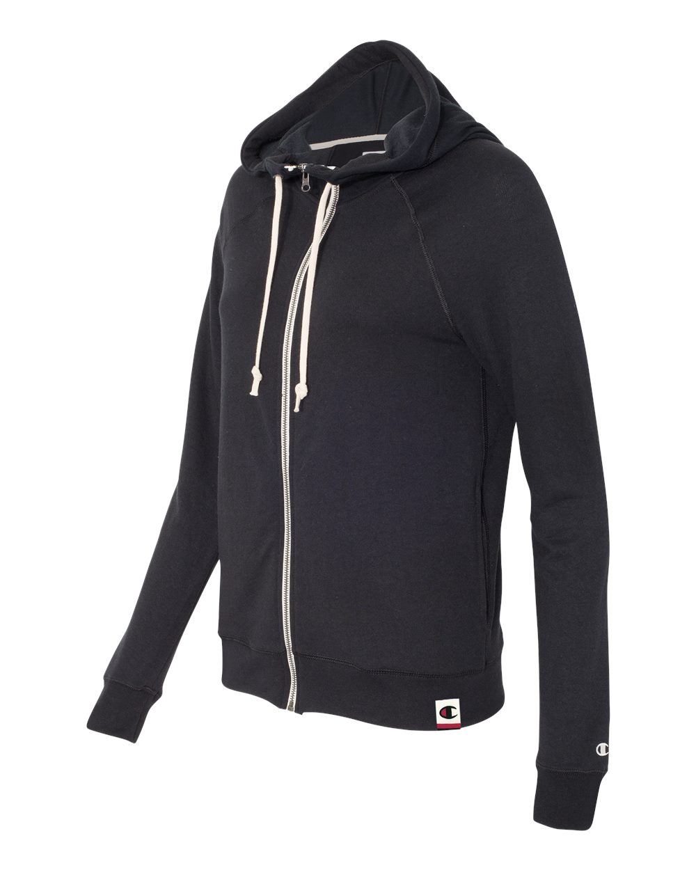 Champion AO650 - Authentic Originals Women's French Terry Hooded Full-Zip