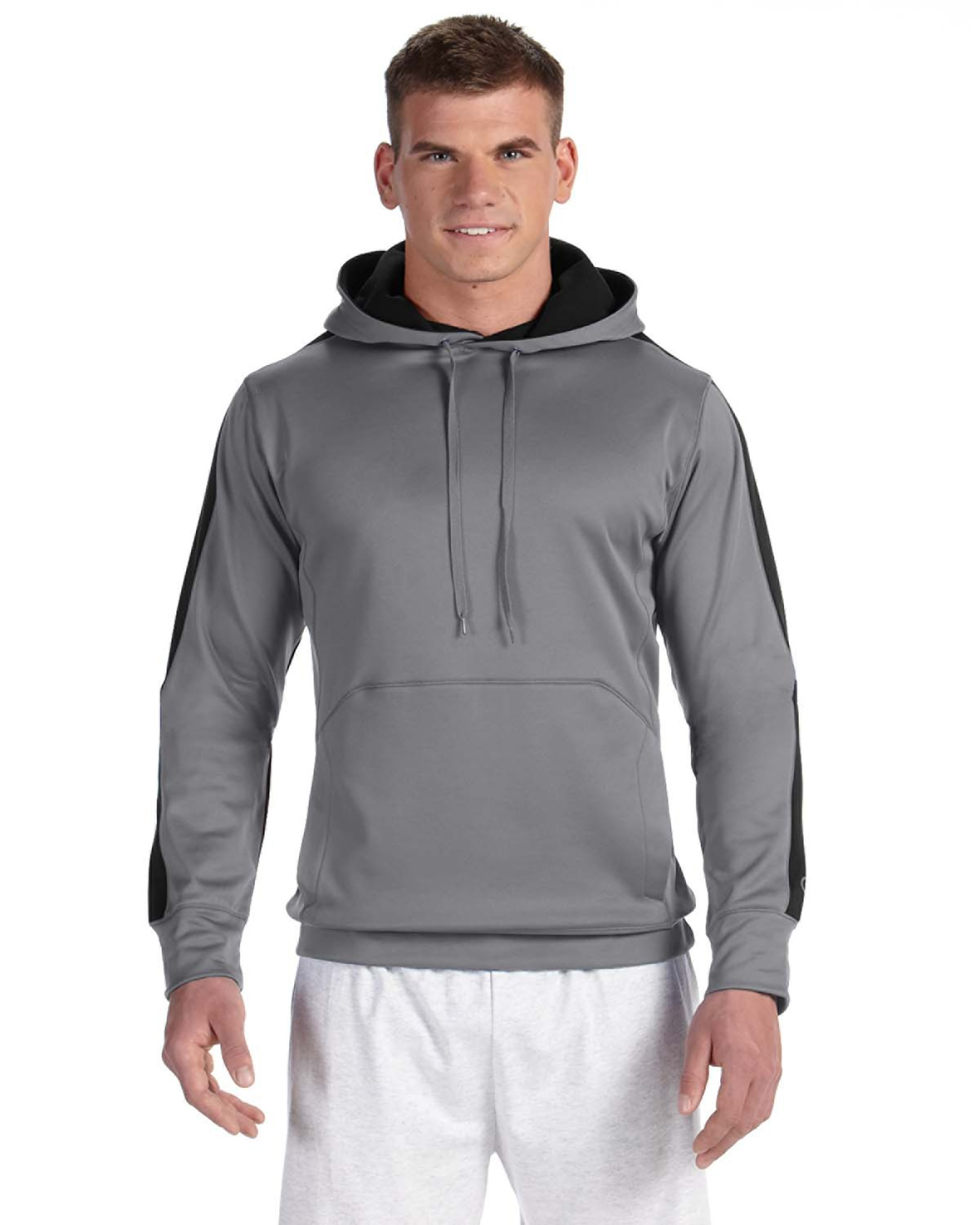 Champion S220 - Colorblocked Performance Hooded Pullover ...