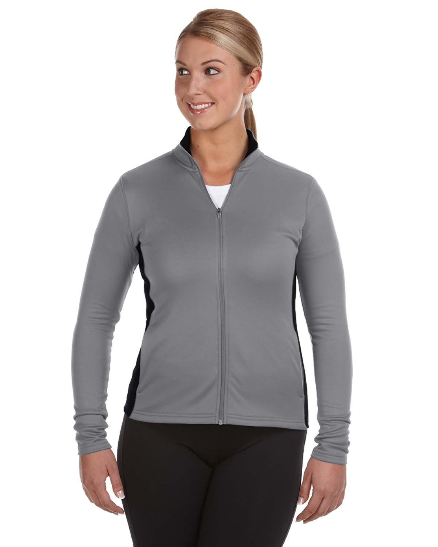 Champion S260 - Ladies' Colorblocked Performance Full-Zip Sweatshirt