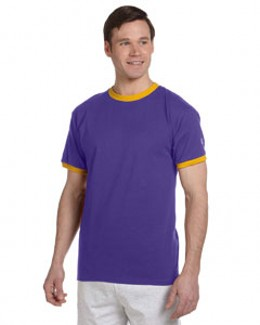 Champion T1396  Tagless Ringer T-Shirt