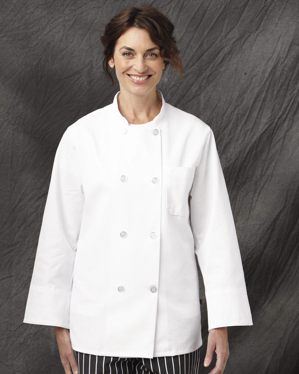 Chef Designs 0403 Eight Pearl Button Chef Coat