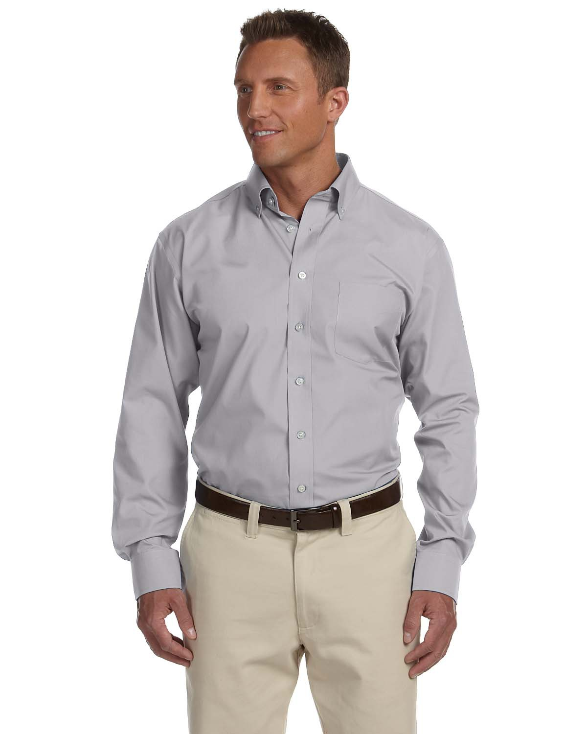 Chestnut Hill CH600  Men's Executive Performance Broadcloth