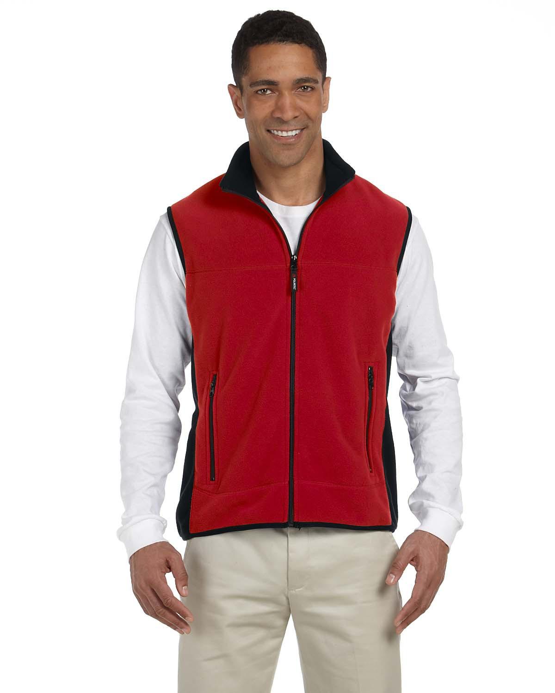 Chestnut Hill CH960  Polartec Colorblock Full-Zip Vest