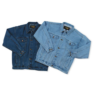 Cobra EGE/EAGLE - Classic Washed Jean Jacket