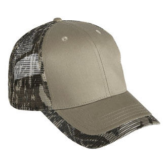 Cobra PMM-C - 6 Panel Cotton Camo Mesh Cap