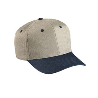 Cobra PTH - 6 Panel Cotton Twill Khaki Crown Cap