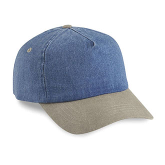 Cobra TDW-R - 5 Panel Denim Washed-Relaxed Cap