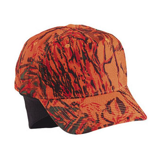 Cobra TEP-C - 5 Panel Low Crown Camo with Foldable Ear Flaps