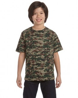 Code V Youth Camouflage T-Shirt 2206
