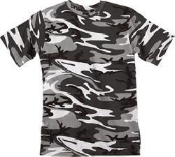 Code V LS Camouflage T-Shirt -3906