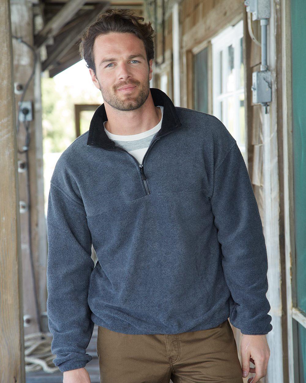 Colorado Clothing 12010 Classic Fleece 1/2 Zip Pullover