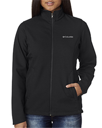 Columbia 5343 - Ladies' Black Kruser Ridge™ Soft Shell