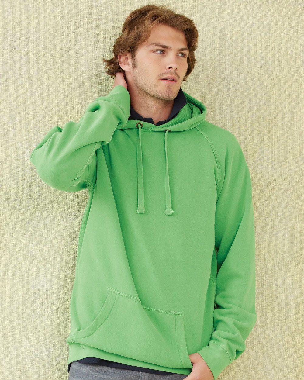Comfort Colors 1565 Pigment-Dyed Hooded Sweatshirt