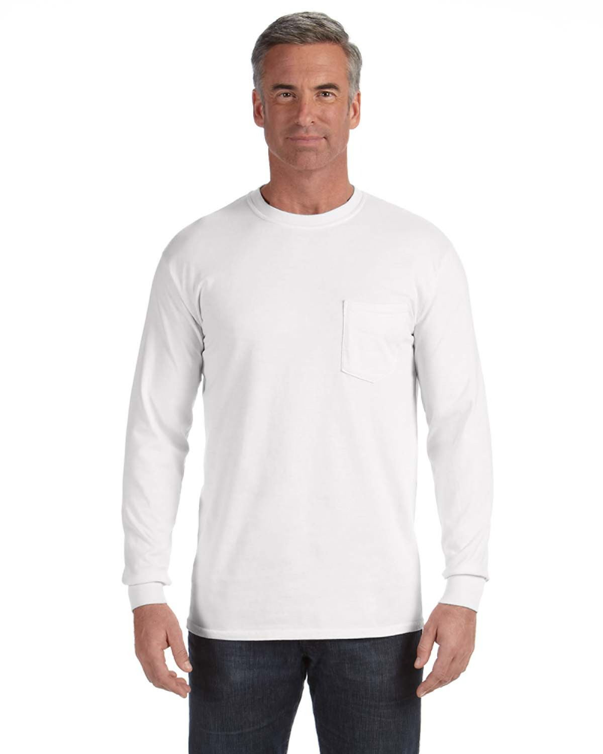 Comfort Colors C4410 - Long-Sleeve Pocket T-Shirt