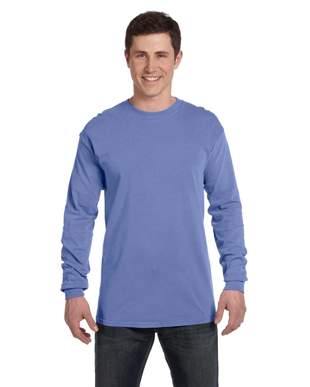 Comfort Colors C6014  6.1 oz. Ringspun Garment-Dyed Long-Sleeve T-Shirt