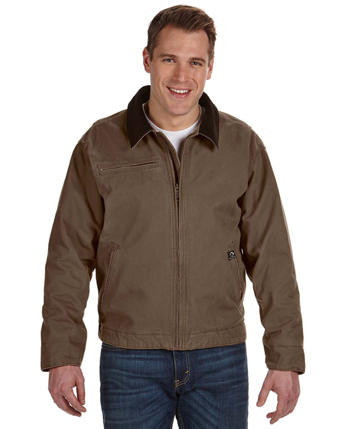 DRI DUCK 5087 Outlaw Boulder Cloth Jacket with Corduroy Collar