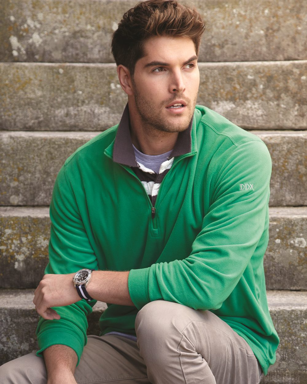 DRI DUCK 7396 - Nano-Fleece Element Quarter-Zip Pullover