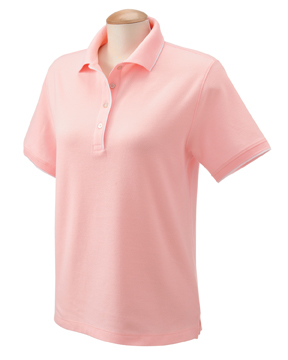 Devon & Jones D120W Ladies' Tipped Piqu  Polo