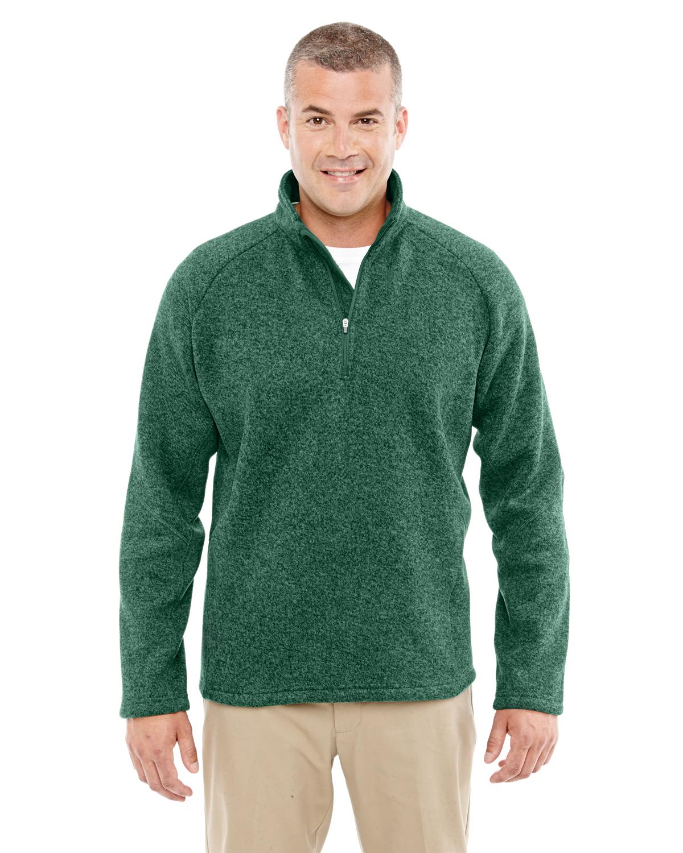 Devon & Jones DG792 - Men's Bristol Sweater Fleece Half-...