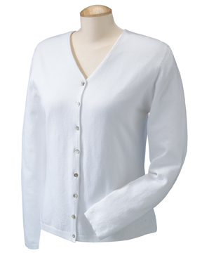 Devon & Jones DP450W Ladies' Stretch Everyday Cardigan ...