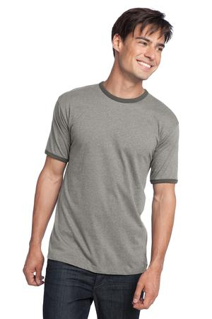 District® DT125 Young Mens Cotton Ringer Tee