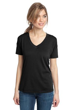 District Made™ DM480 Ladies Modal Blend Relaxed V-Neck Tee