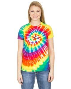 Dyenomite Drop Ship 150MS - Junior Spiral Tie-Dye T-Shirt