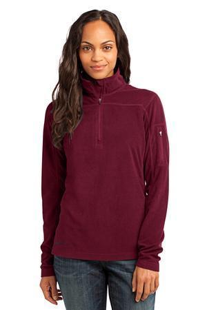 Eddie Bauer® EB221 Ladies 1/4-Zip Grid Fleece Pullover