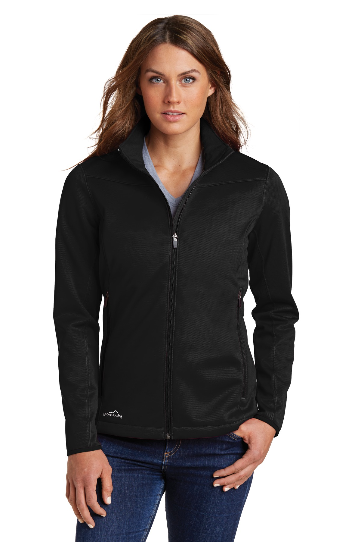 Eddie Bauer  EB539 - Ladies Weather-Resist Soft Shell ...