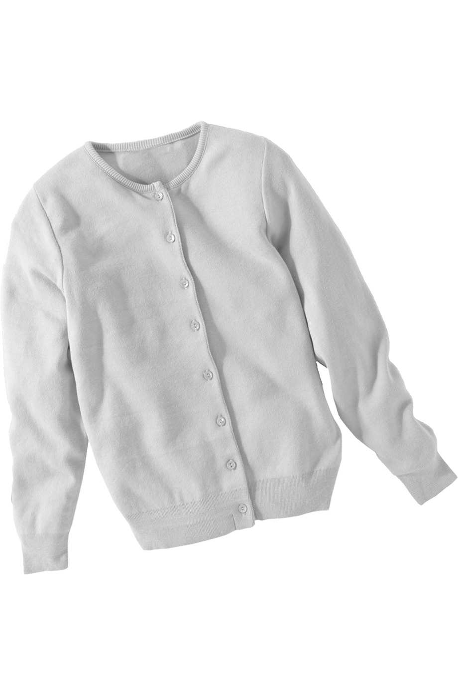Edwards Garment 111 - Women's Cotton Cashmere Cardigan Jewel Neck