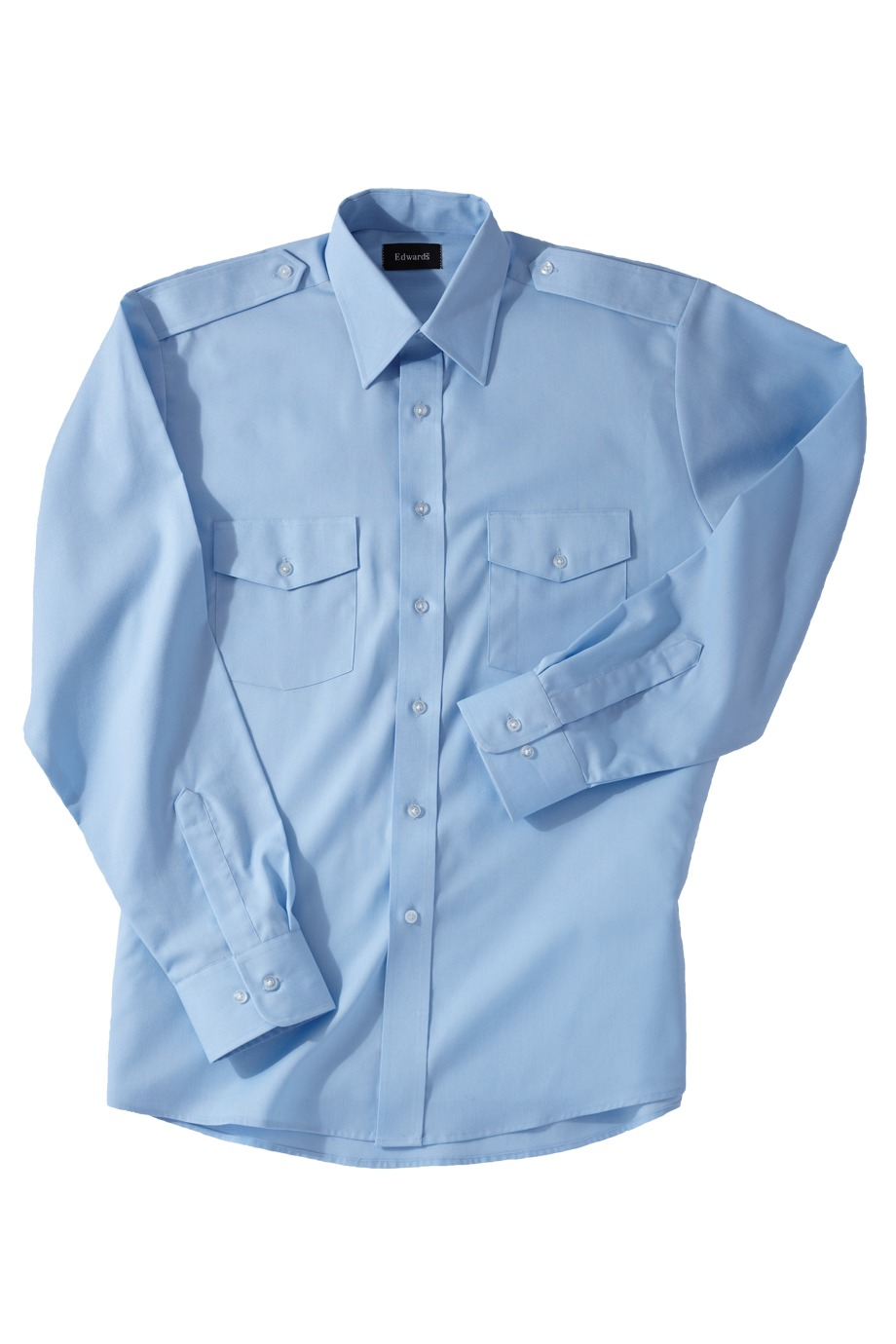 Edwards Garment 1262 - Men's Long Sleeve Navigator Shirt