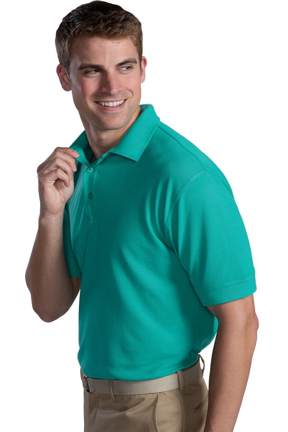Edwards Garment 1500 - Men's Short Sleeve Soft Touch Blended Pique Polo