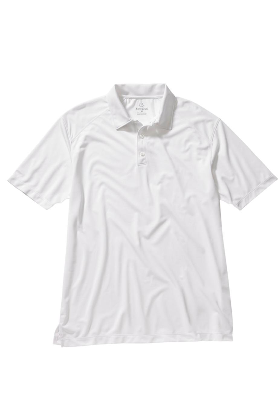 Edwards Garment 1516 - Men's Micro-Pique Polo With Self-Fabric Collar