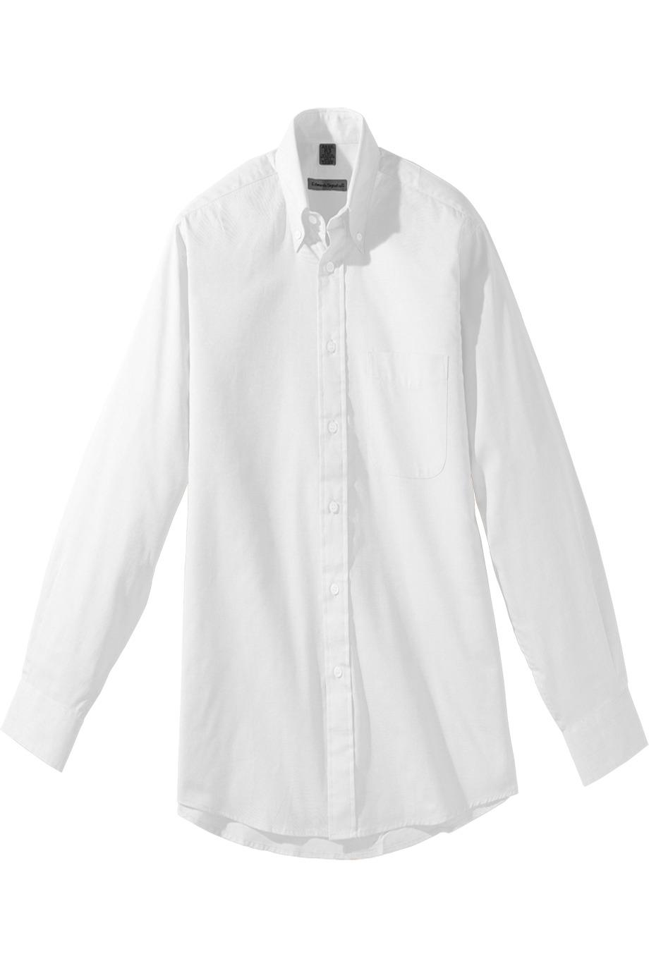 Edwards Garment 1975 - Men's Long Sleeve Pinpoint Oxford Shirt