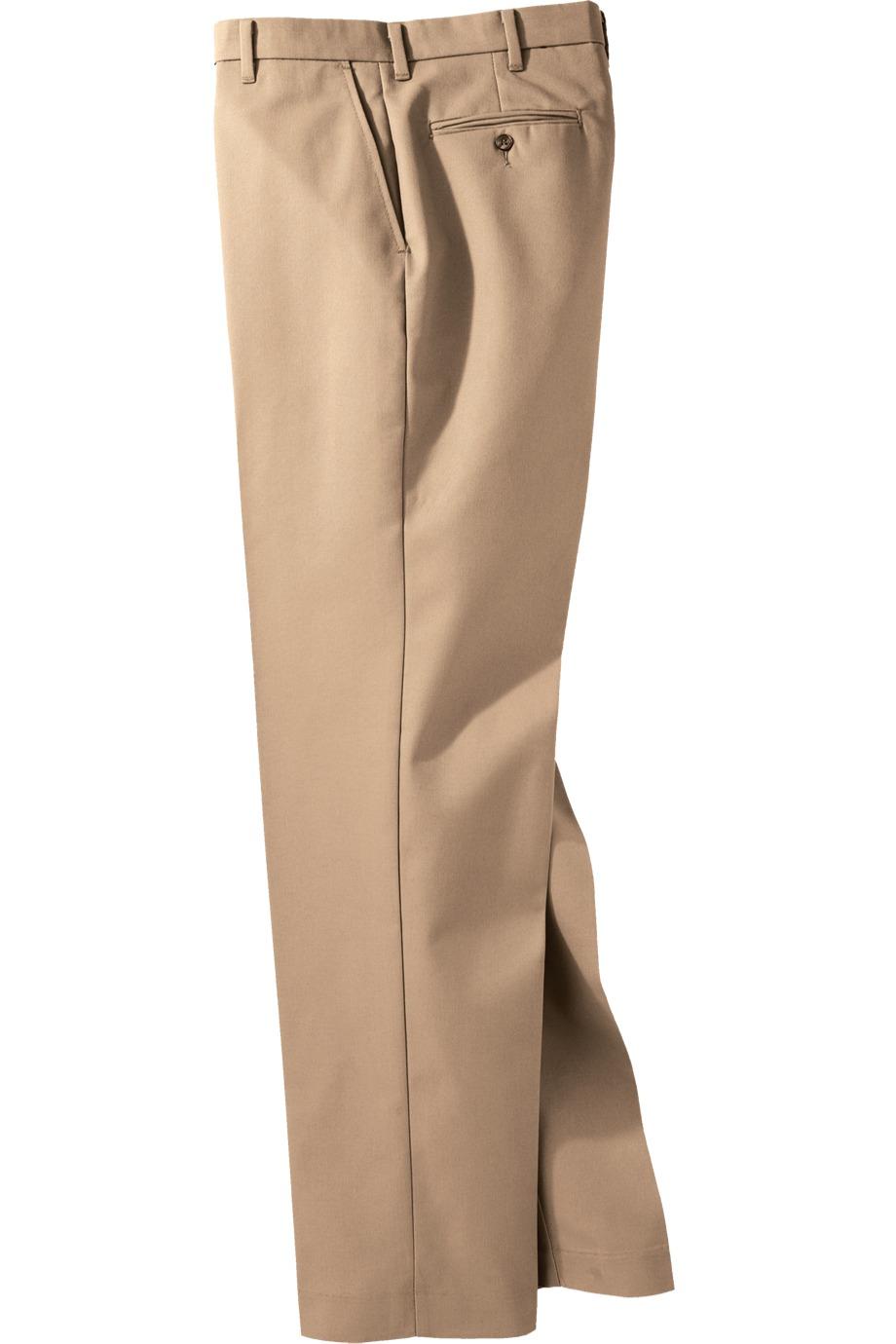 Edwards Garment 2510 - Men's Business Casual Flat Front Pant